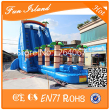 New Style Cheap Commercial Double Giant Inflatable Water Slide For Adult
