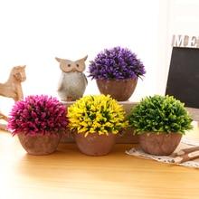 Artificial Plants Vase Set Simulation Flower Bonsai Wedding Potted Furnishing Living Room for Home Decoration Valentine's Day