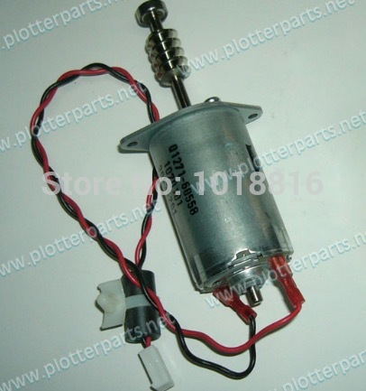 Free shipping Q1273-60247 Q1273-60037 Media-axis motor For the HP Designjet 4000/4500/4520/Z6100/Z6200 plotter parts