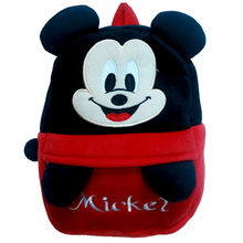 Hot Sale Lovely cartoon soft mickey Plush backpack minne school bag CHILDREN BACKPACK kid Satchel 1