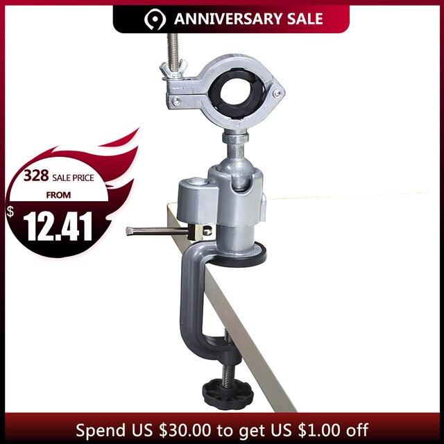 GOXAWEE мини-дрель роторные инструменты стол держатель vice мини-тиски алюминиевый сплав Настольный зажим для Dremel Дрель Инструменты