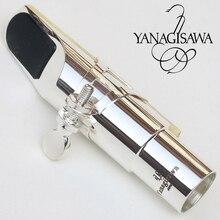 Янагисава тенор сопрано альт саксофон металлический мундштук посеребренный мундштук Sax рот штук Размер 5 6 7 8 9