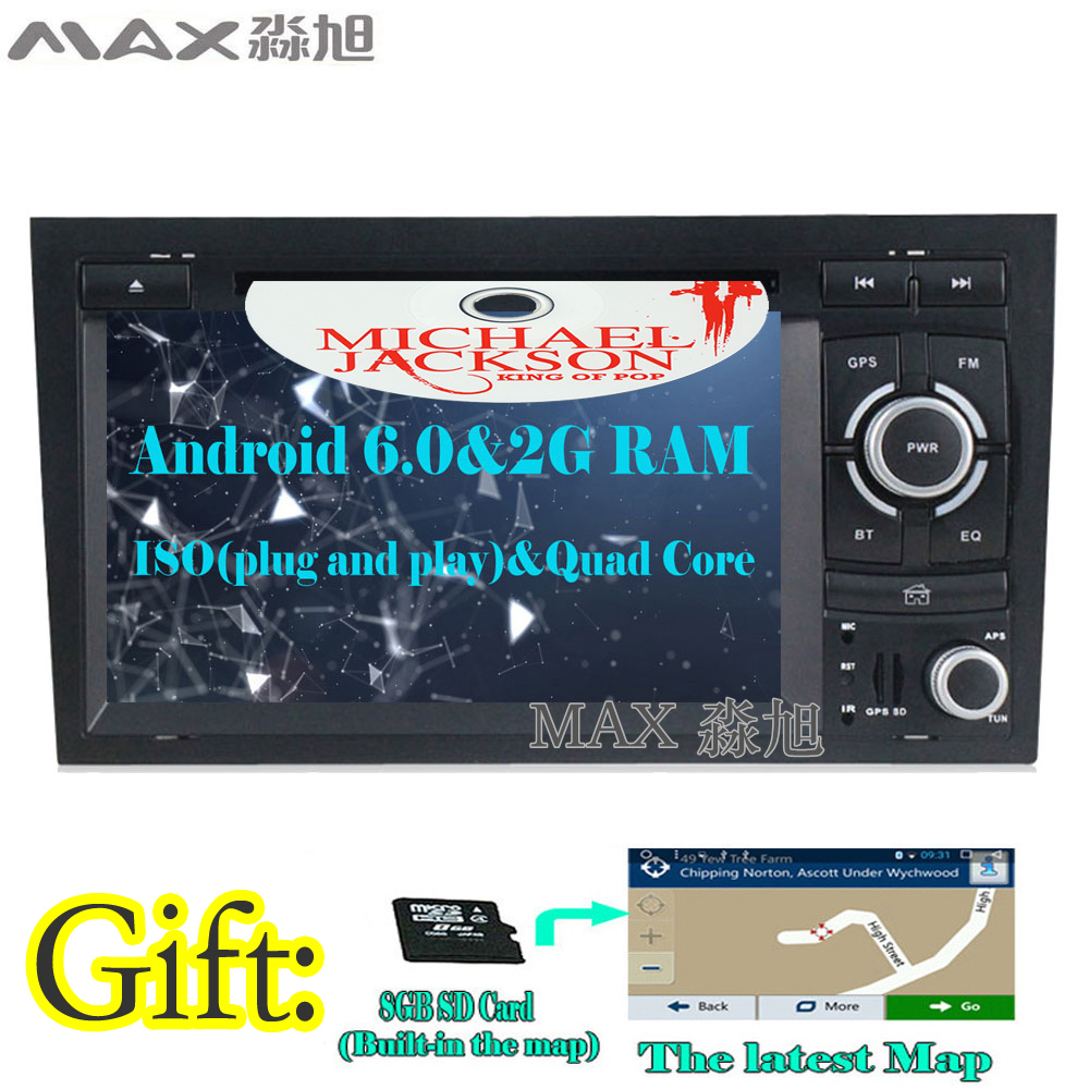 Max For Audi A4 B6 B7 S4 2003 2011 Car Radio Gps Navigation System