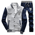 2016 spring and autumn New Brand Men  Suit Sportwear Leisure Jacket+pants Sets  Suit Men's Casual Clothing Sportswear