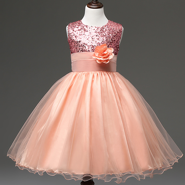 b70cb8671b US $29.9  Summer colorful shining sequins flower girl dress for party  little girls formal dress clothes pageant ball gowns for girls-in Flower  Girl ...