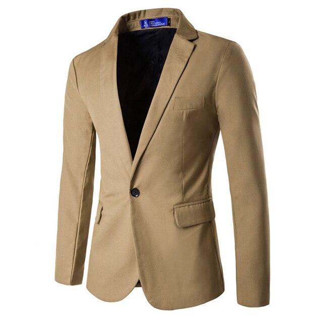 Novo Homem Chegada Blazers Mens Cotton Blazer Projeta Jaqueta Chaquetas Casaco Homens Blazer Terno Masculino Cor Sólida Roupas Casuais