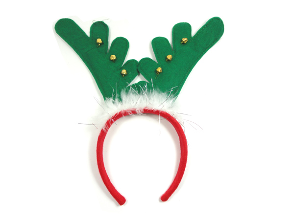 5pcs/lot Santa Reindeer Antler Hat Deer Horn Christmas Cap Free ...