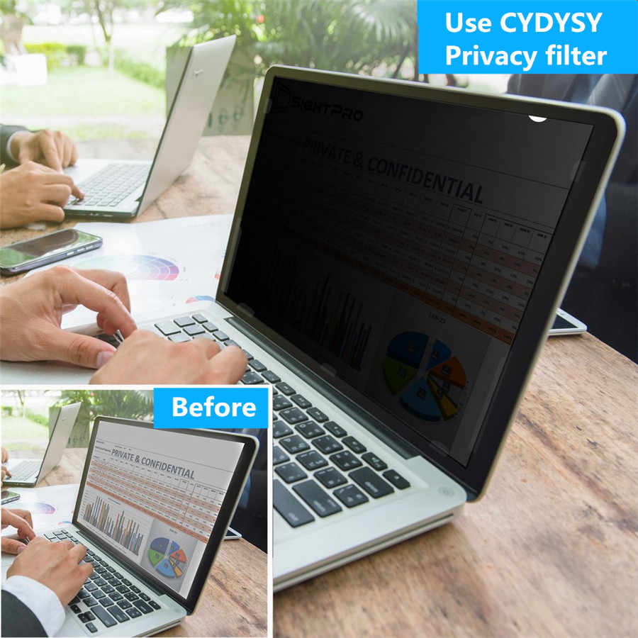 buy popular 0a01c 9f2ac 12 inch Privacy Filter Anti-glare screen Protector film for 4:3 Standard  Laptop 245mm*184mm