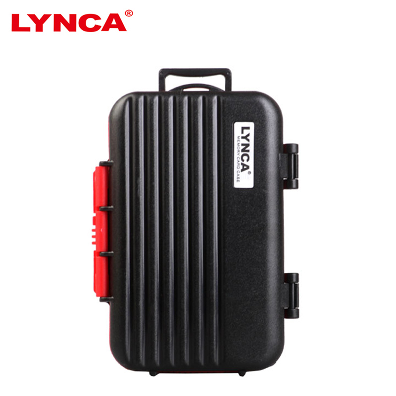 Memory Card Case Storage Holder LYNCA Water-Resistant Memory Card Carrying Storage Box Holder for 4 CF 8 SD Card 12 TF Storage jd коллекция дефолт mc 4 4 фото карта tf cf карты 8 8 чжан xd карты листов