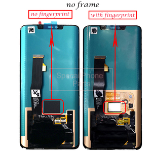Image 5 - Super AMOLED For Huawei Mate 20 Pro LCD Display Touch Screen Digitizer Assembly Repair Mate 20 pro LCD With frame With fingerpri