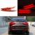 Para KIA Cerato K3 Forte 2012-2014 Levou Carro de Automóveis Levou Barra de luz de Cauda Traseiro Refletor Luzes Diurnas Carro luz