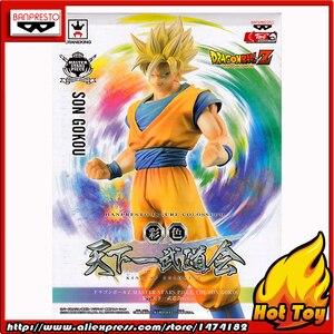 "Image 5 - BANPRESTO figura Original Master Stars Piece (MSP), 100%, Super Saiyan, de ""Dragon Ball Z"", Son Goku"