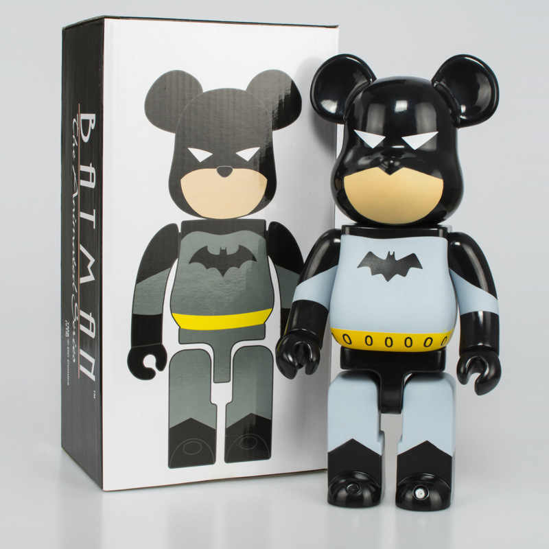 11 Inch BE @ Rbrick 400% Bearbrick Kekerasan PVC Action Figure Collectible Model Toy Hadiah dengan Kotak