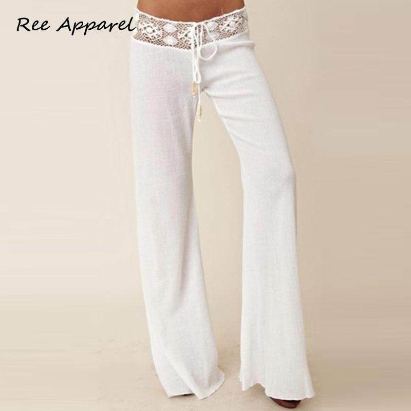 White Lace Pants Promotion-Shop for Promotional White Lace Pants ...