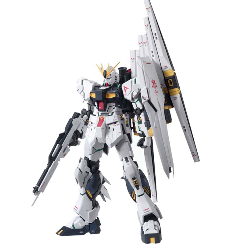 ФОТО Daban MG RX-93 V/Nu Gundam Version KA Char's Counterattack 1/100 Assembled Hobby Action Figures Robot Prototype Anime Collection