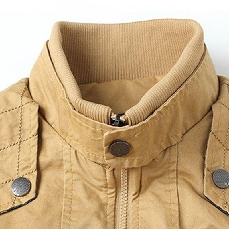 Image 5 - Мужская куртка бомбер, мужская куртка в стиле милитари на осень и зиму, 2019Куртки