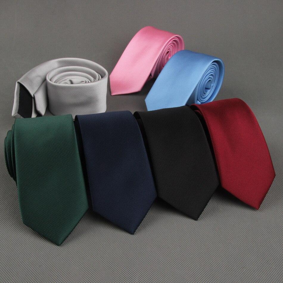 Mantieqingway Polyester Skinny Necktie Tiess