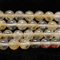 """Precio de fábrica de Piedra Natural Suave Cuarzo Citrino Granos Flojos 16 """"capítulo 6 8 10 12 MM Tamaño de la Selección Para La Fabricación de Joyas"""