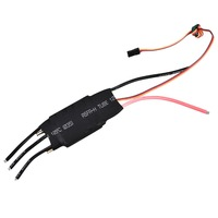 125A Brushless ESC RC Boat ESC Water Cooling Electric Speed Controller With 5V/3A UBEC for RC Boat Model