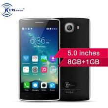 E & L j7 Smartphone 5,0 Zoll Dual Kameras 8 GB ROM 1 GB RAM Android 6.0 Quad Core Dual Sim 3100 mAh 3G WCDMA Setzte handys