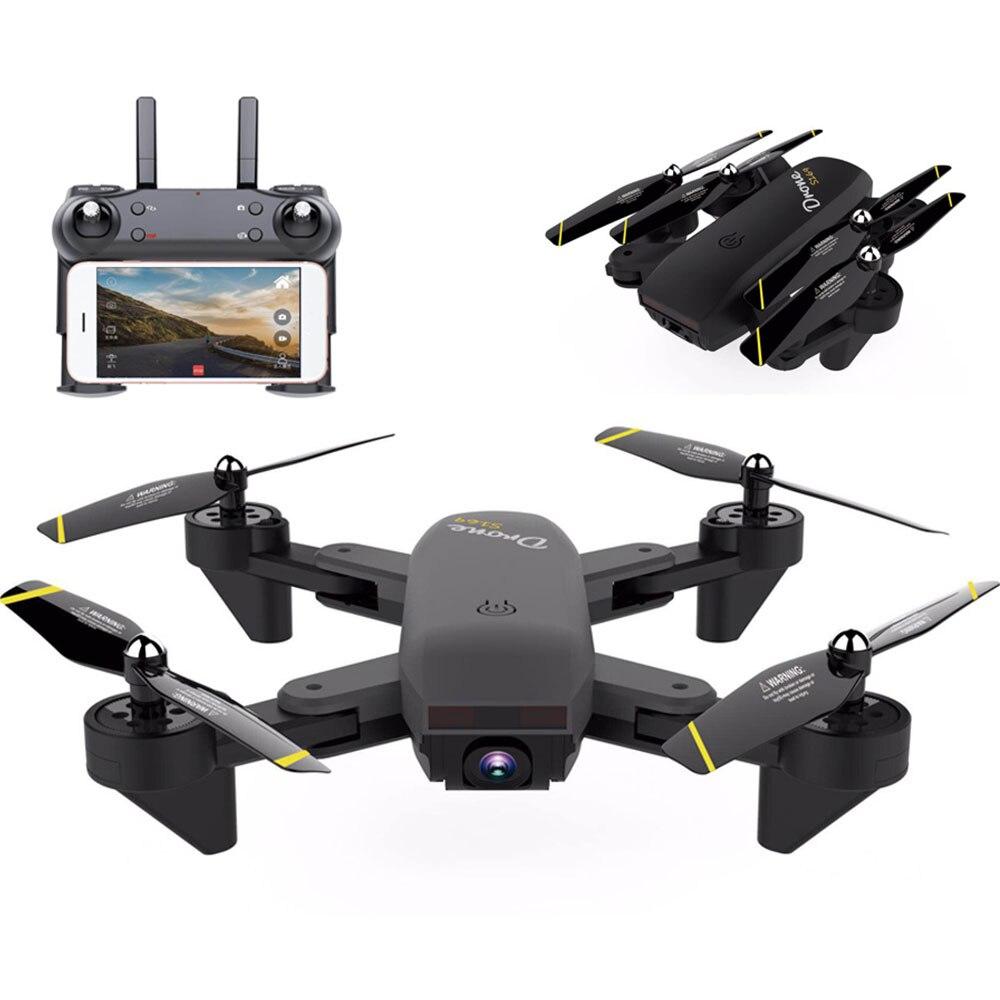 Drone Luna Télécommande Caméra Quadcopter APP téléphone portable Support Câble Chargeur Noir