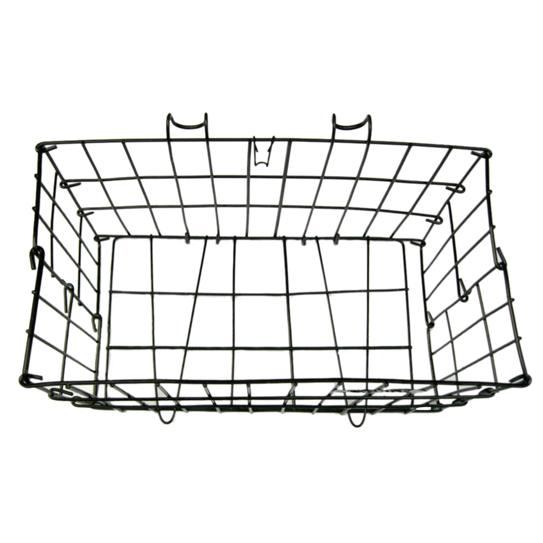 Folding Wire Bicycle Basket Rear Bike Racks Basket Carrier