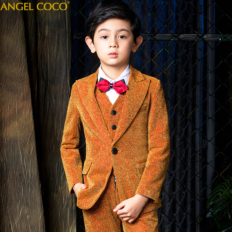 New Boys 5Pcs Winter Clothing Set British Style School Boys Waistcoat Uniform Suit with Shirt Boys Wedding Suit Menino Garcon New Boys 5Pcs Winter Clothing Set British Style School Boys Waistcoat Uniform Suit with Shirt Boys Wedding Suit Menino Garcon