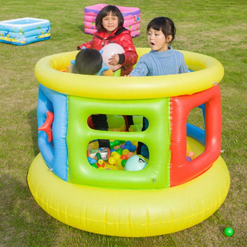 New Arrival Kids Inflatable Trampoline Safety Indoor Toys