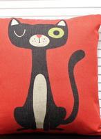 минималистский творческий кошка, белье подушки главная украсить диванные