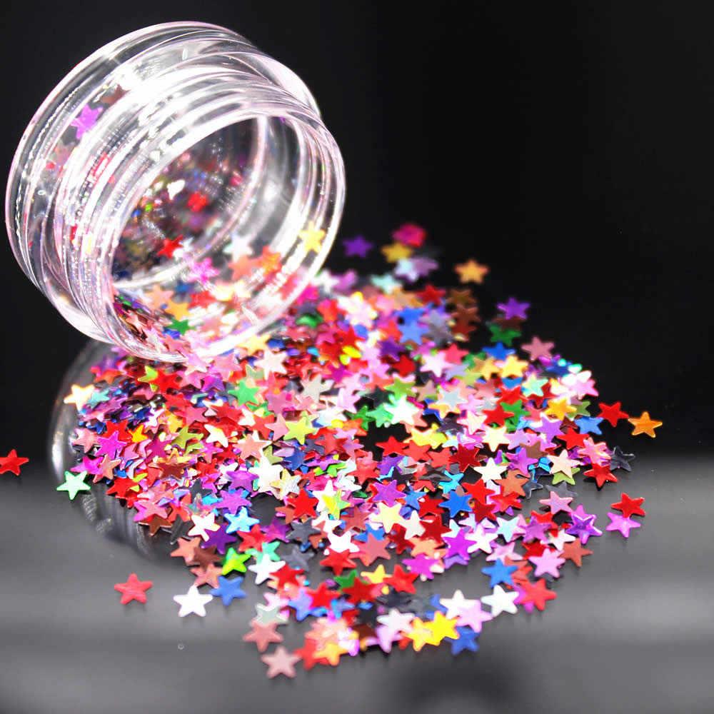 Starstruck srebrne z gwiazdkami do paznokci artystyczny design Manicure Venalisa 24 kolor lakierowany lakier do paznokci żel polski żel UV lakier do paznokci lakier