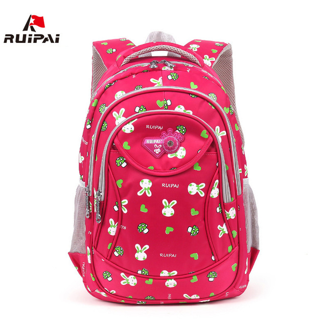 da61e6c7e47 RUIPAI Fashion Kids Polyester Rabbit school Backpack Schoolbags Kids Bags  Mochila For Boys Girls Baby s School