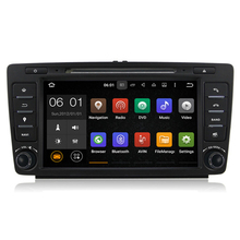 8″ Quad Core Android 5.1 Car Stereo Audio Head Unit Autoradio Headunit for Skoda Octavia A5 Yeti 2009 2010 2011 2012 2013
