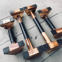 Special wooden Carbide wood 1 Pair Wooden Fitness Sport Push Up Stands Pushup Gym Exercise Training Chest Bar