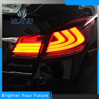 Car Style LED Tail Lights Rear Lamps Tail Lamps For Honda Accord Sedan 2014 2016 DRL
