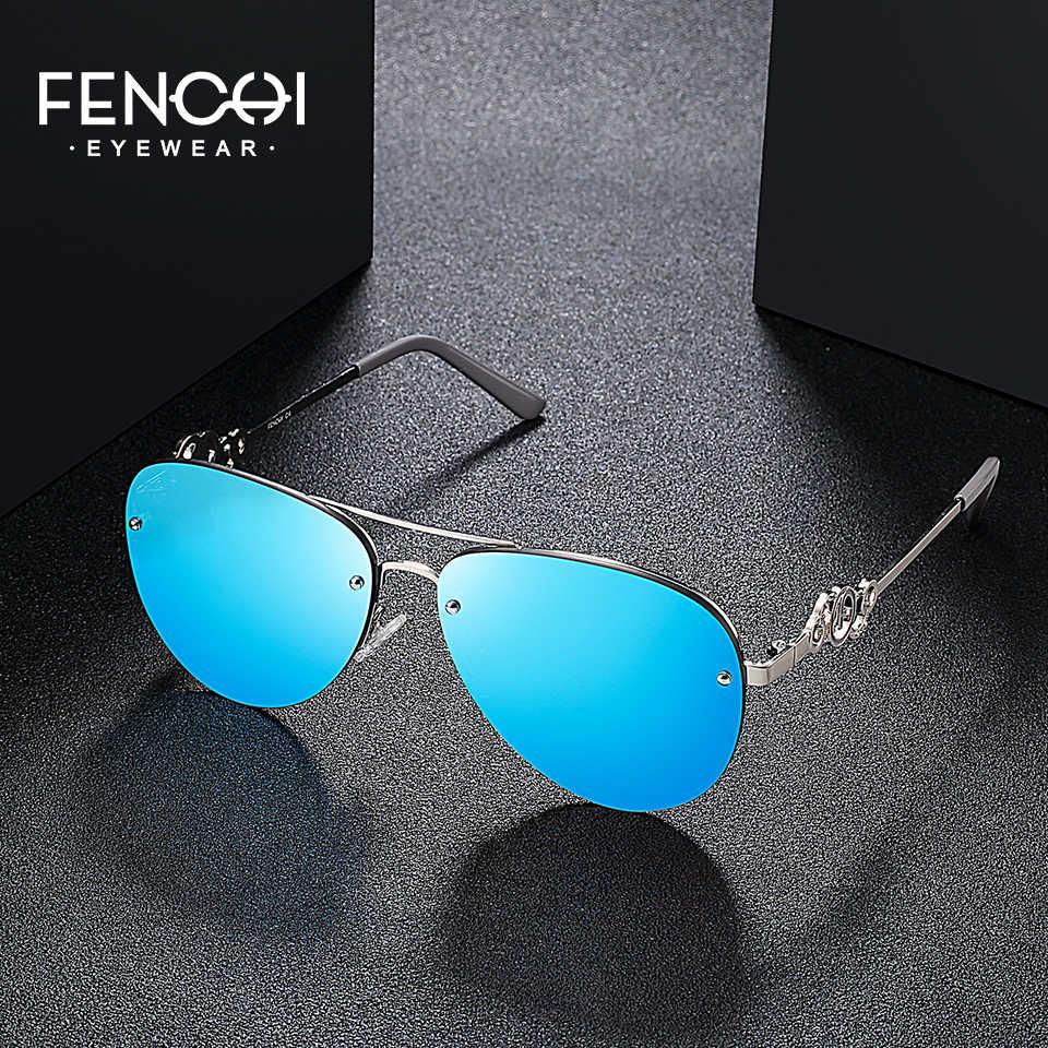 727cba7ff1 ... FENCHI 5Colors Sunglasses Women Driving Classic Vintage Eyewear High  Quality Metal Sunglasses Fashion Brand Design Glasses ...