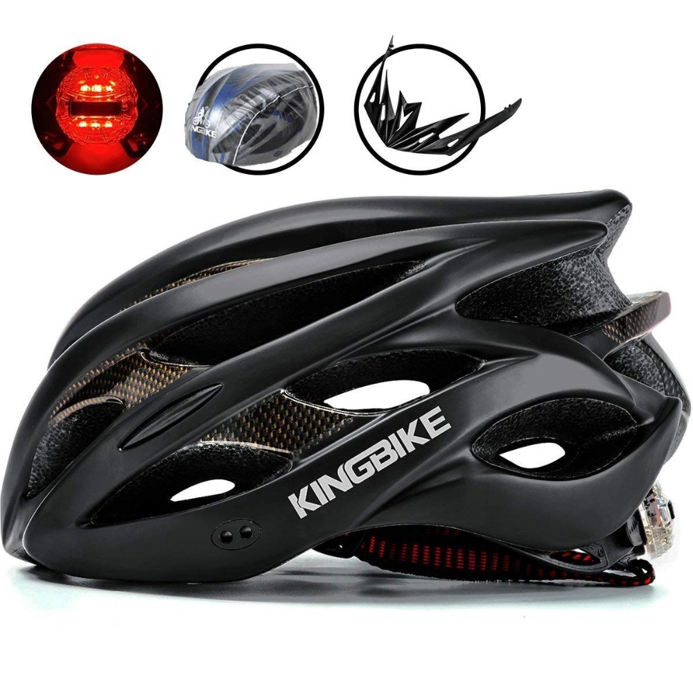 KINGBIKE Road Bike Helmet Professional Triathlon Road Bike Cycling Helmet Men Bicycle Integrally-molded Ultralight Sport HelmetsKINGBIKE Road Bike Helmet Professional Triathlon Road Bike Cycling Helmet Men Bicycle Integrally-molded Ultralight Sport Helmets