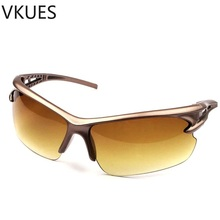 VKUES Fashion Men Women Sunglasses Sport Tough Lens Sun Glasses Anti Glare UV400 Windproof Outdoor Goggles Cyclists