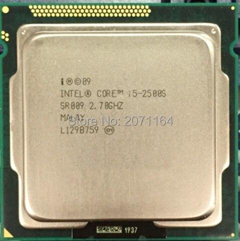 Бесплатная доставка для Intel i5-2500S маломощные версии официального 1155 иглы 2.7 Г настольных ПК ПРОЦЕССОР