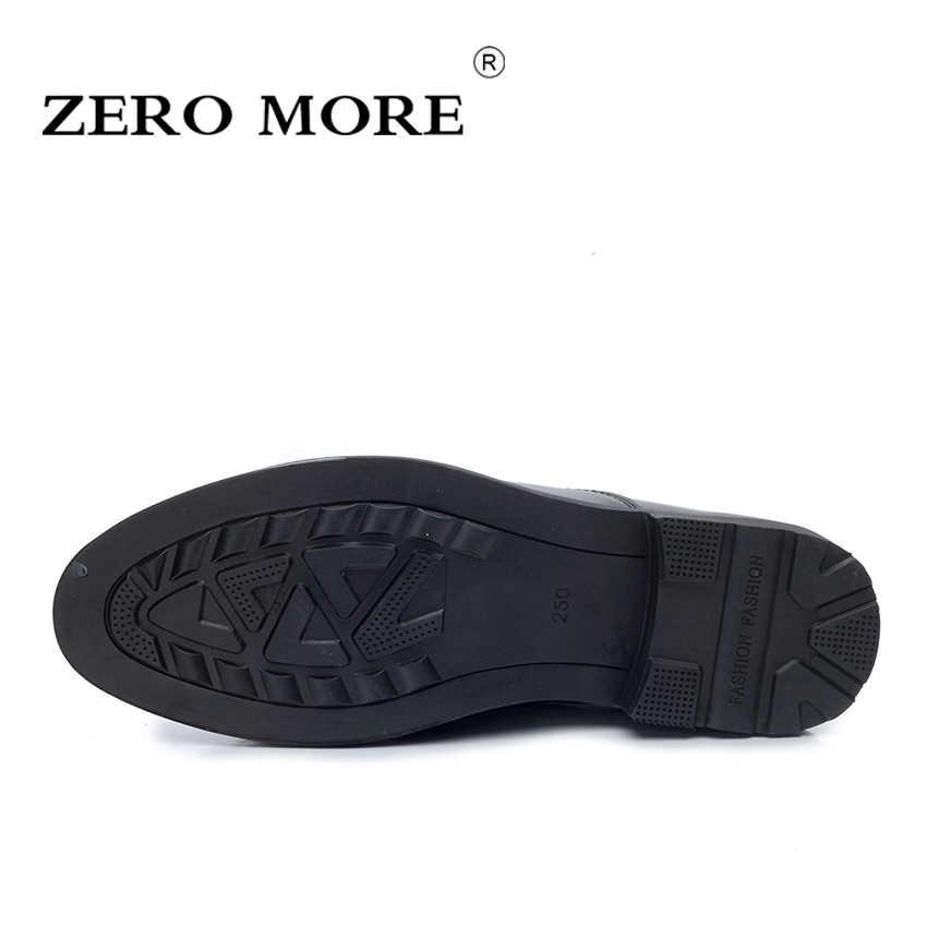1248ad56a ... ZERO MORE Слипоны для мужчин обувь из спилковой кожи повседневное модные  острый носок Лоферы для женщин ...