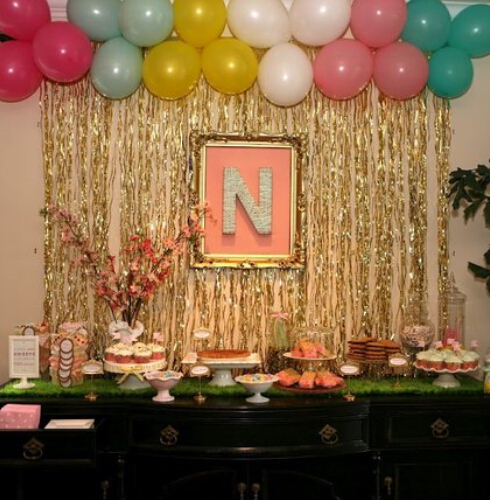 Simple Birthday Decorations At Home: 2*1M Wedding Decoration Home Pub Birthday Party Stage