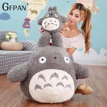 Plush-Toys Totoro Cushion Giant Doll Stuffed Animal Creative Gift Funny Cartoon Children