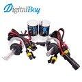 Digitalboy 12 V 55 W H7 Xenon Bombillas Coche Faro Antiniebla Auto Car Faro Kit de Conversión de Iluminación Del Coche 4300 k 5000 k 6000 k 8000 K