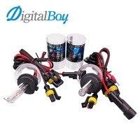 Digitalboy 12V 55W H7 Xenon Bulbs Car Headlight Fog Lamp Auto Car Headlamp Conversion Kit Car