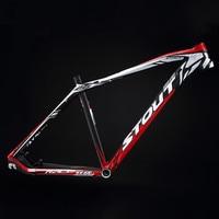 STOUT Warcraft XR 9 scandium alloy mountain bike frame MTB 26/27.5 inch ultra light inner line cross country