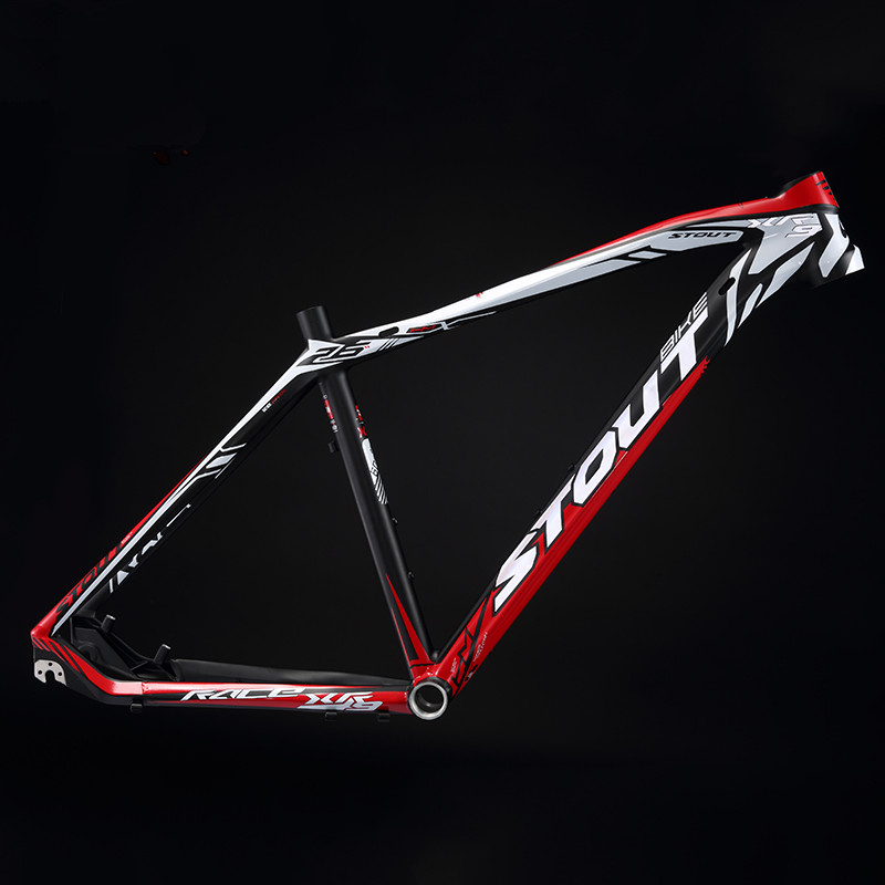 STOUT Warcraft XR-9 Scandium Alloy Mountain Bike Frame MTB 26/27.5 Inch Ultra Light Inner Line Cross Country