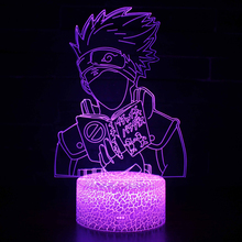 Naruto Kakashi Hatake 3D Color Changing Night Light