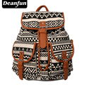 Deanfun Vintage Rucksack Printing Canvas Women Backpack Mujer Mochila Escolar Feminina School Bag Sac a Dos BFS3