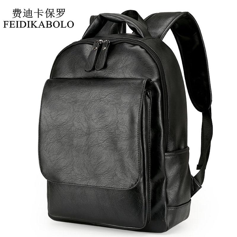 Nahast meeste seljakott meestele 2019 seljakotid must seljakotid meeste moe seljakott kooli kotid must seljakott äri sülearvuti kotid