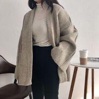 2018 New Cardigan Women Autumn Winter Female Long Sleeve Cardigan Korean Sweater Knitted Cardigans Women Tops