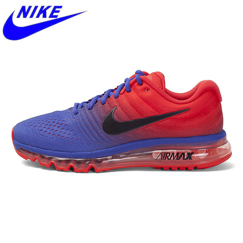 new style aab78 6800a US $143.5 49% OFF|Nike Air Max 2017 Men's Running Shoes,Original New  Arrival Official Men Outdoor Sports Sneakers Shoes, Men Sneakers 849559-in  ...